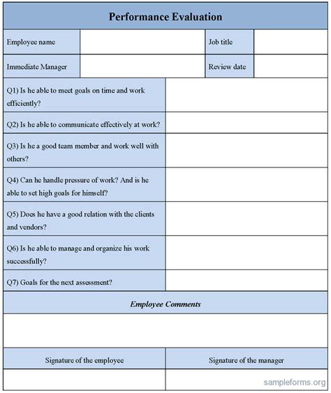 performance appraisal template performance appraisal improvement areas in performance appraisal