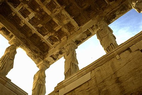 The Ancient City of Athens: The Acropolis - Erechtheion ...