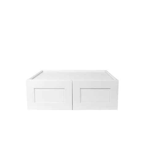 wall kitchen cabinet plywell ready to assemble 33x12x12 in shaker high 3312