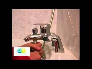 plomberie probleme robinet mitigeur baignoire plumbing With comment changer le joint d un robinet