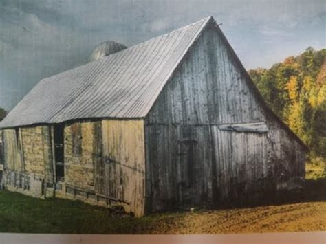 How To Draw A Barn by How To Draw And Paint A Barn In Perspective With
