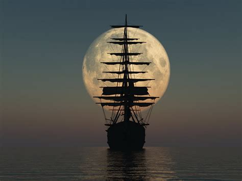 ship sailing   moonmoonipulations