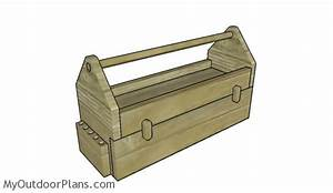 Wood Tool Box with Drawer Plans MyOutdoorPlans Free