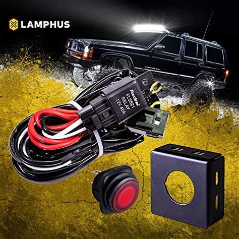 atv off road lights lamphus 13 39 off road atv jeep led light bar wiring harness