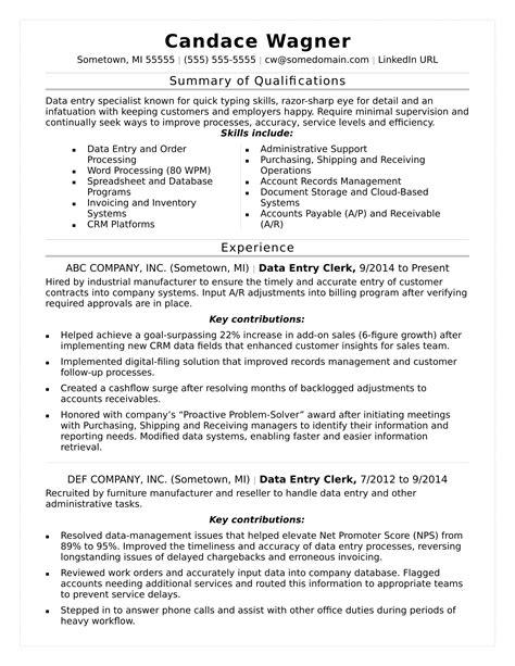 Spreadsheet Specialist Job Description intended for Data