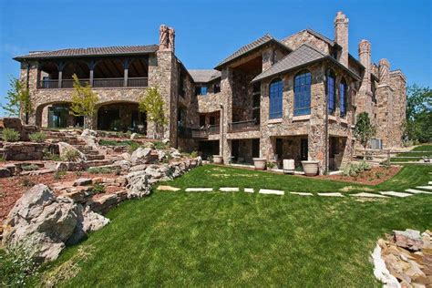 scottish castle estate  cherry hills village colorado