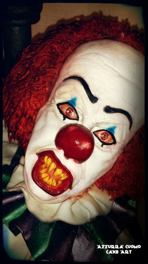 pennywise  dancing clown cake