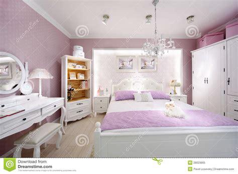 le chambre à coucher chambre à coucher élégante pour le femme photo libre