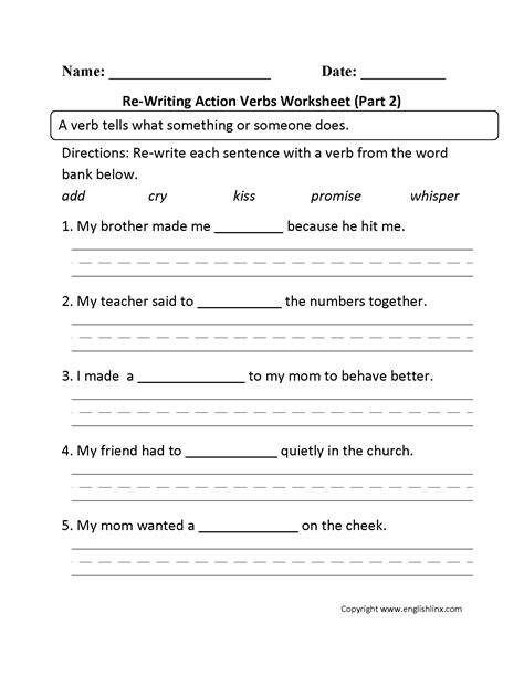 grade 2 writing worksheets pdf worksheets for all
