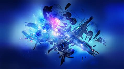 blue abstract p wallpapers hd wallpapers id