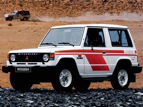 Due to the name pajero roughly translating to wanker in spanish. Mitsubishi Pajero I 1982 - 1991 SUV 3 door :: OUTSTANDING CARS