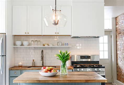 Creative Small Kitchen Ideas - small budget kitchen makeover ideas
