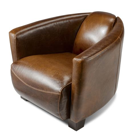 but canapé convertible fauteuil design croûte de cuir vieilli enduite bycast
