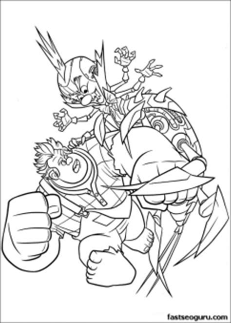 printable cartoon wreck  ralph  king candy coloring page printable coloring pages  kids