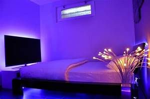 No ceiling lights in bedrooms : Bedroom lighting charming led lights ideas