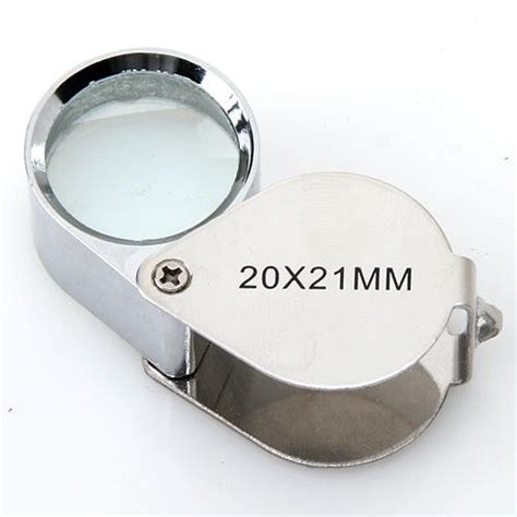 10x 20x 30x Magnifying Magnifier Glass Jewellers Eye