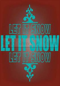 let it snow christmas vinyl wall saying lettering quote With vinyl lettering decals for crafts