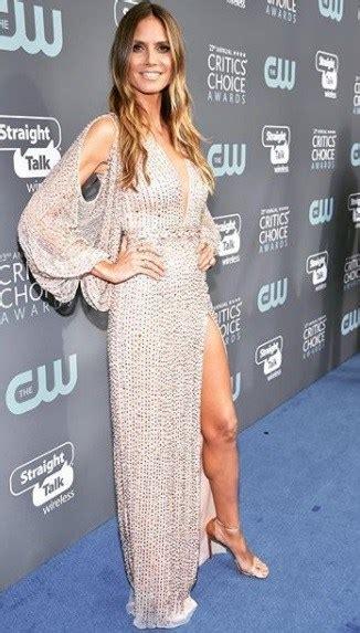 Critics Choice Awards Angelina Jolie Heidi Klum