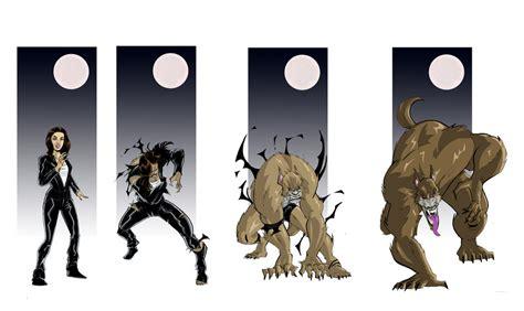 Werewolf Girl Transformation By Full Moon Master