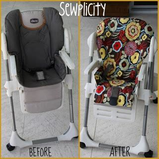 fabric high chair seat cover something to think about
