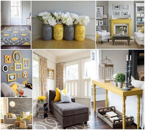 Room Decor Ideas Yellow And Gray by Style Your Living Room In Gorgeous Gray And Yellow
