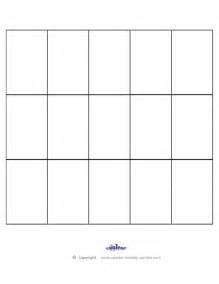 Free Printable Blank Bingo Sheets
