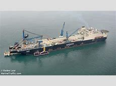 Vessel details for CASTORONE Pipe Layer IMO 9444194