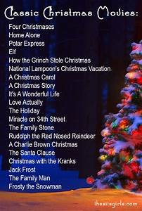 Christmas Cheer To-Do List   Classic Christmas Movies ...
