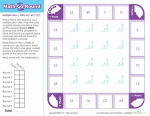 math go easy worksheet education