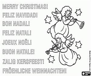 Ausmalbilder Weihnachtskarten Malvorlagen 4