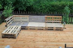 Gartenmöbel Aus Paletten : 50 coole modelle sofa aus europaletten ~ Whattoseeinmadrid.com Haus und Dekorationen