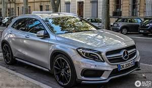 Mercedes Gla Blanc : mercedes benz gla 45 amg x156 8 mars 2015 autogespot ~ Gottalentnigeria.com Avis de Voitures