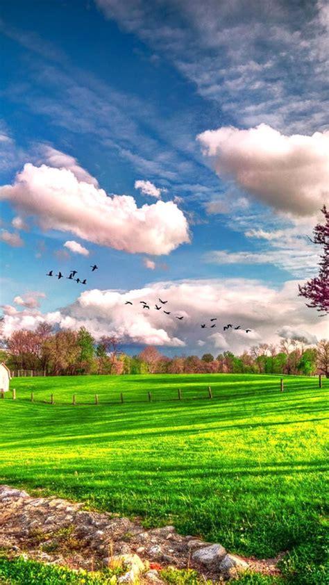Beautiful Winter Landscape Wallpaper Landscape Beautiful Spring Nature Hd Wallpaper Wallpaper Download 720x1280