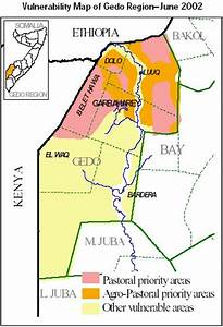 Vulnerability Map of Gedo Region, Somalia - June 2002 ...