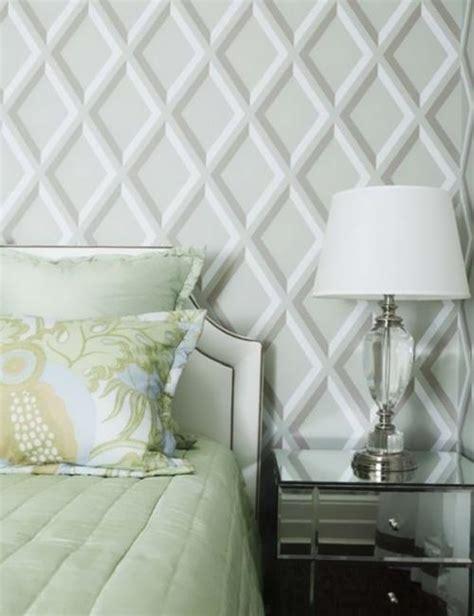 modern ideas  bedroom decorating  bold geometric