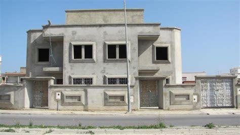 chambre de commerce tunisie villa inachevée à trois 3 niveau