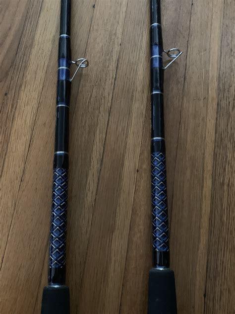 grouper dogfish rods custom