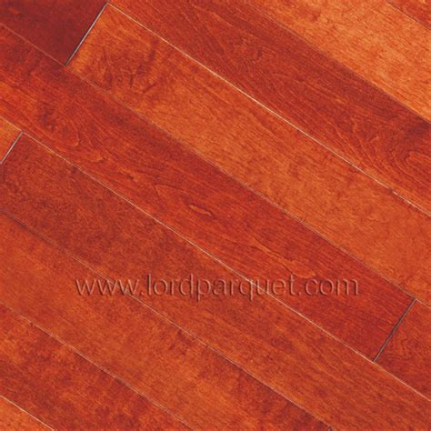 Red Wine Color American Maple Hardwood Flooring from China