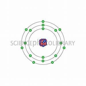 Chlorine, atomic structure - Stock Image C013/1530 ...