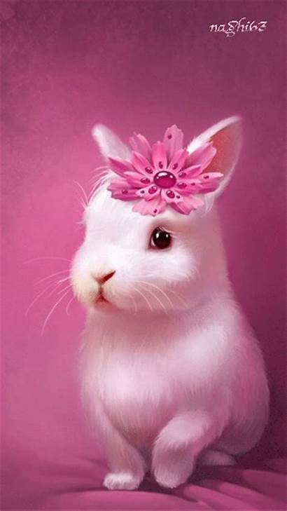Pink Rabbit Bunny Bunnies Animal Easter Animals