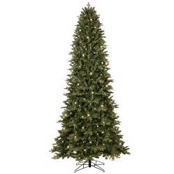 shop ge 9 ft 3467 count pre lit aspen fir slim artificial christmas tree with color changing 700
