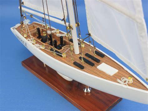 buy wooden america  model sailboat decoration  model ships