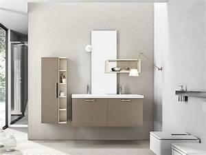 decoration salle de bain taupe With meuble de salle de bain taupe