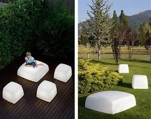 Outdoor floor lighting from carpyen lite cube and