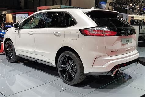 New Ford Suv 2018 by New Ford Edge Updated Suv Arrives At Geneva 2018 Car