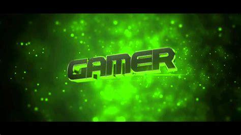 Intro For Gamer By Kibart 60fps Youtube