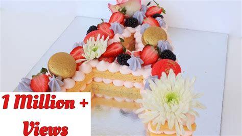 alphabet cake trending cake  youtube