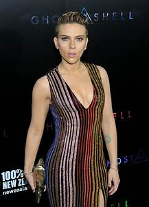 "Scarlett Johansson - ""Ghost In The Shell"" Premiere in NYC ..."