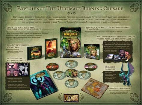 world  warcraft  burning crusade collectors edition