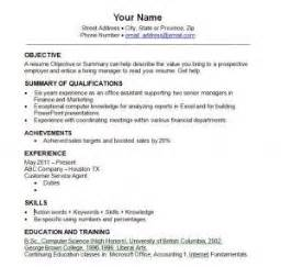 best resume templates 2013 2014 resume